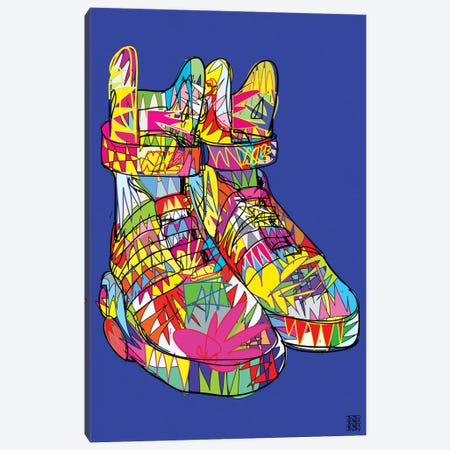 Nike Air Mags (Marty McFly's) Canvas Print #TDR47} by TECHNODROME1 Art Print