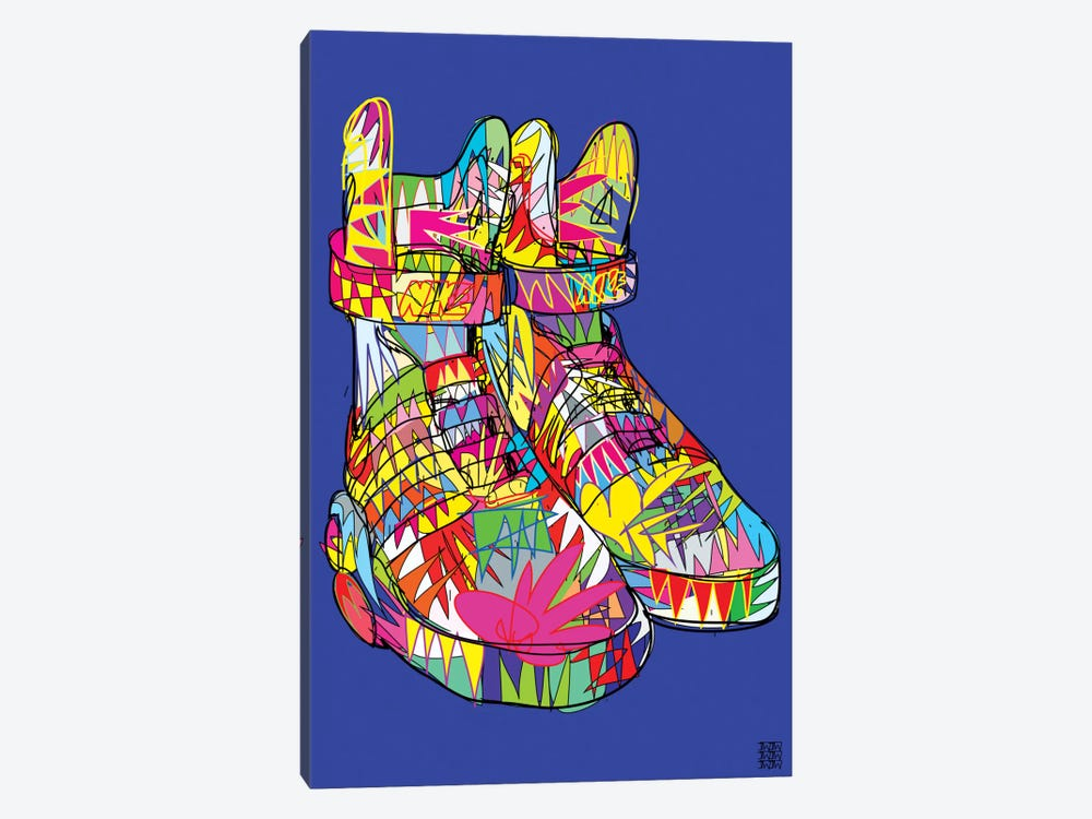 Nike Air Mags (Marty McFly's) by TECHNODROME1 1-piece Canvas Art Print