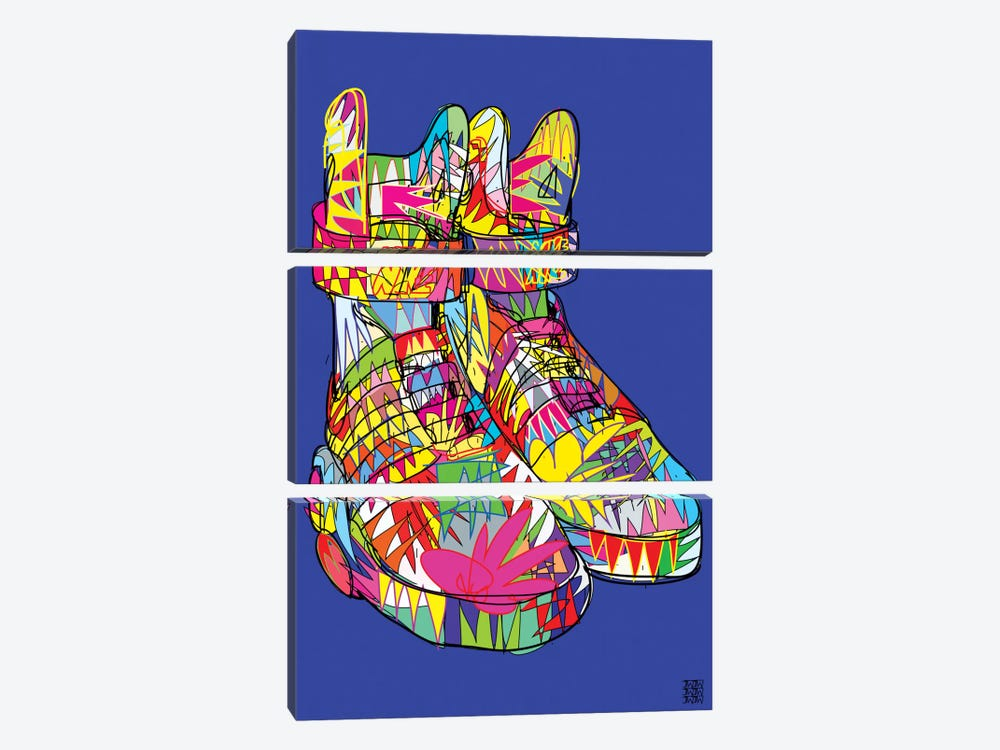 Nike Air Mags (Marty McFly's) by TECHNODROME1 3-piece Canvas Print