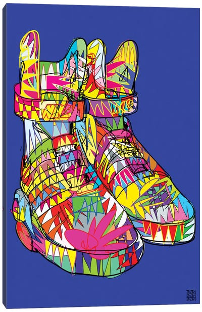 Nike Air Mags (Marty McFly's) Canvas Art Print