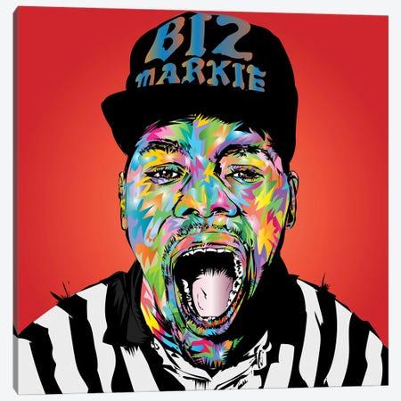Rip Biz Markie Canvas Print #TDR480} by TECHNODROME1 Canvas Artwork