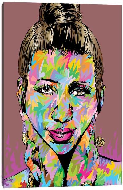 Aretha Canvas Art Print