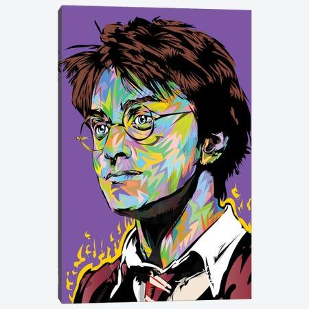 Harry Canvas Print #TDR492} by TECHNODROME1 Art Print