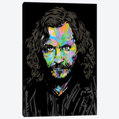 Sirius Black Canvas Print #TDR493} by TECHNODROME1 Canvas Print