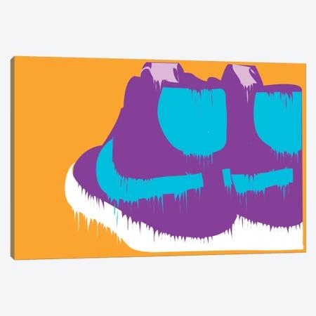 Nike-creams Canvas Print #TDR49} by TECHNODROME1 Canvas Wall Art
