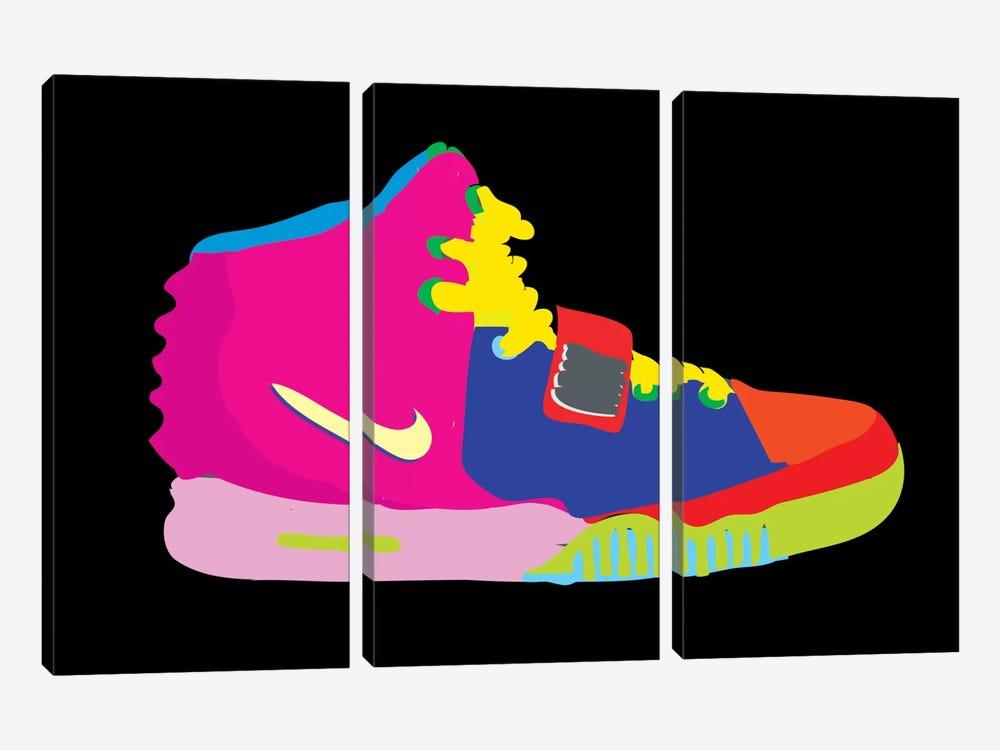 Air Yeezy 2 by TECHNODROME1 3-piece Canvas Art