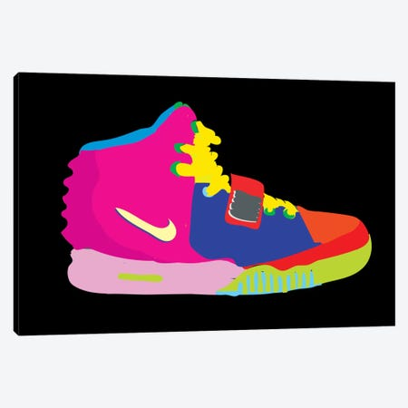 Air Yeezy 2 Canvas Print #TDR4} by TECHNODROME1 Canvas Art Print
