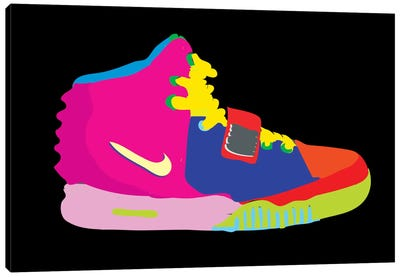 Air Yeezy 2 Canvas Print #TDR4
