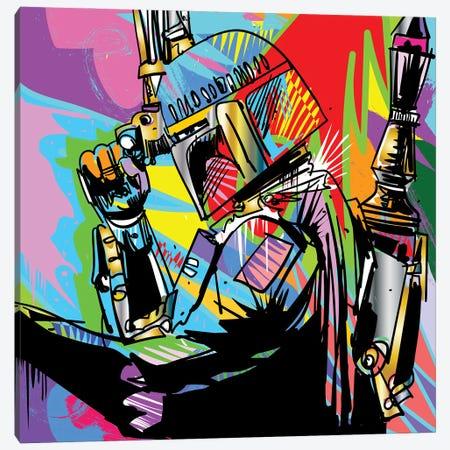 Boba 2018 Canvas Print #TDR502} by TECHNODROME1 Canvas Art Print