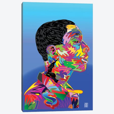 Pharrell Canvas Print #TDR50} by TECHNODROME1 Canvas Print