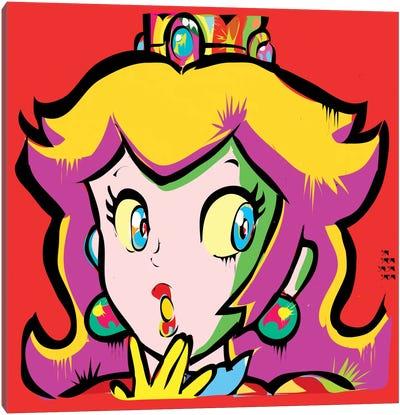 Princess Toadstool Canvas Art Print