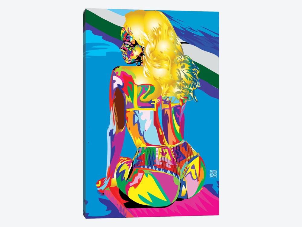 Rihanna's Azz by TECHNODROME1 1-piece Canvas Print