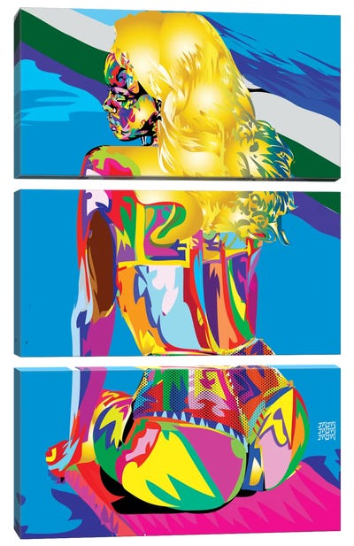 Rihanna's Azz Canvas Art Print