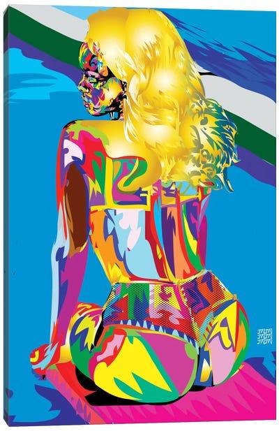Rihanna's Azz Canvas Art Print