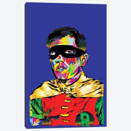 Robin Canvas Print #TDR55} by TECHNODROME1 Canvas Art