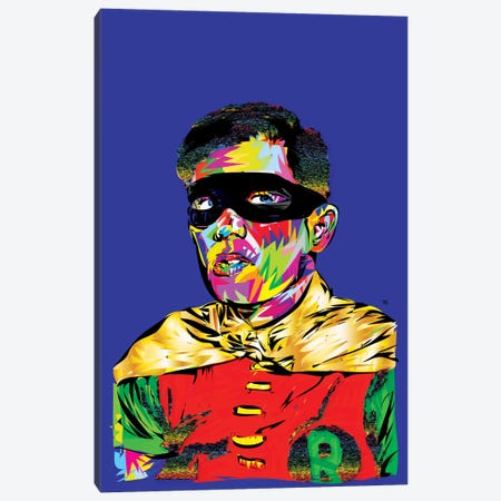 Robin Canvas Print #TDR55} by TECHNODROME1 Canvas Art