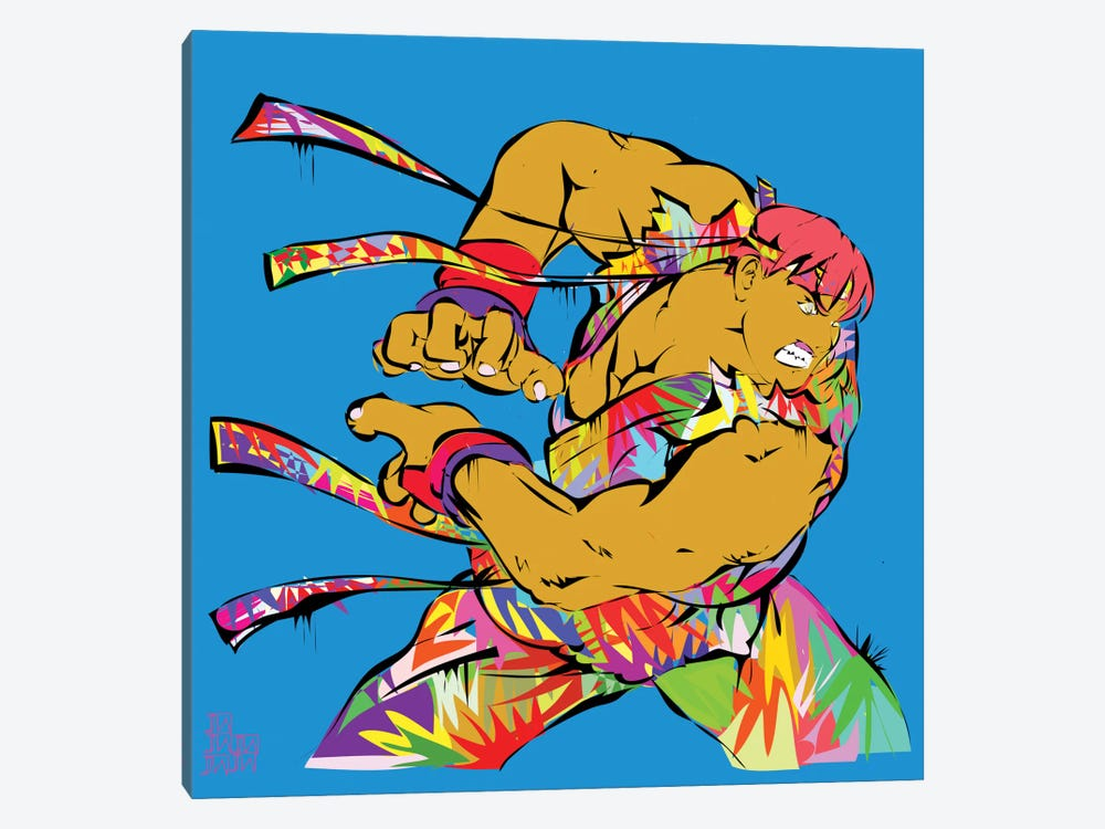 Ryu by TECHNODROME1 1-piece Canvas Print