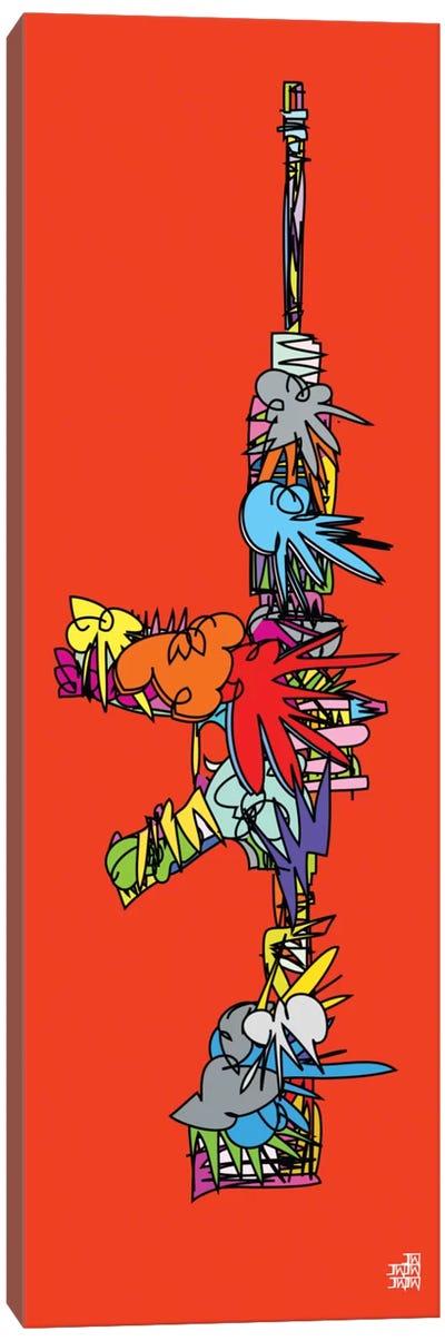 AK47 Canvas Art Print