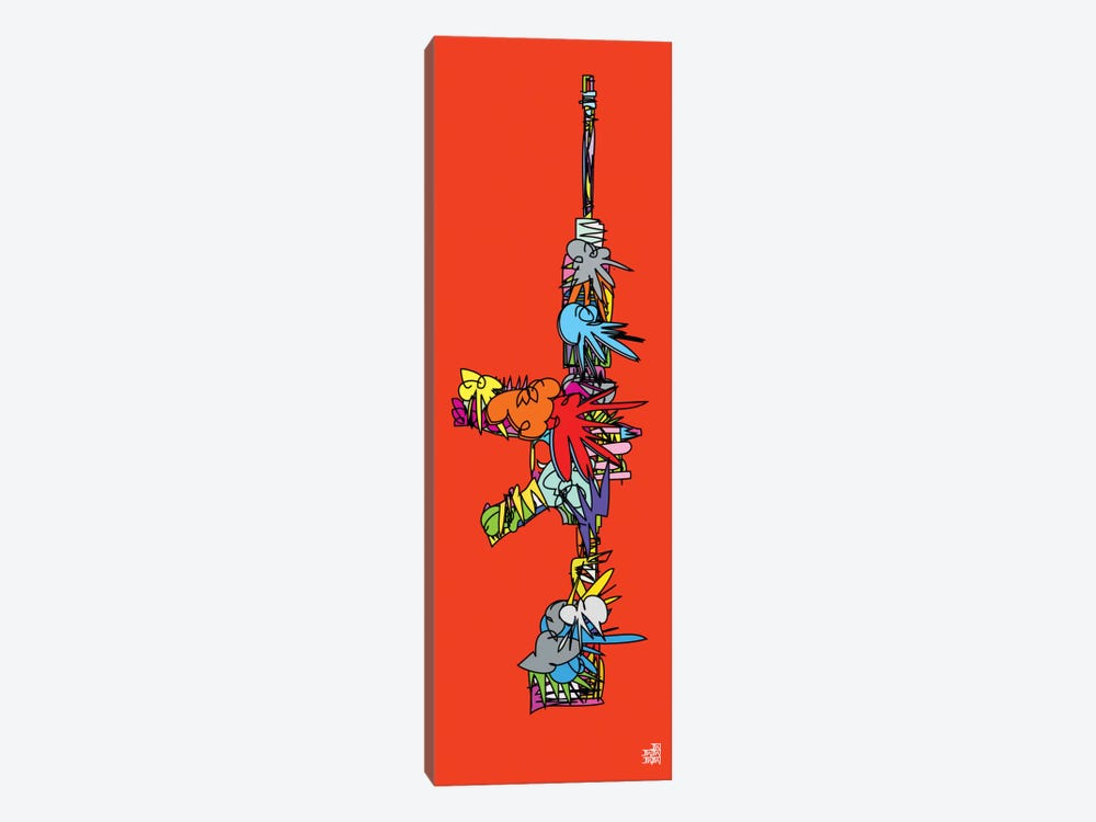 AK47 by TECHNODROME1 1-piece Art Print