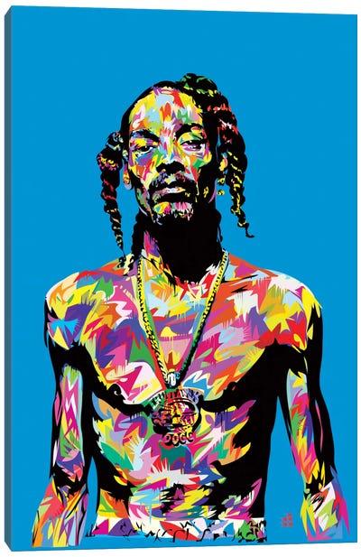 Snoop Canvas Art Print