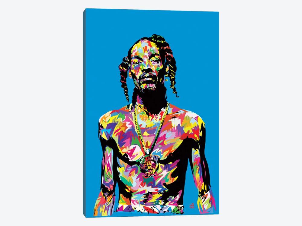 Snoop by TECHNODROME1 1-piece Canvas Wall Art
