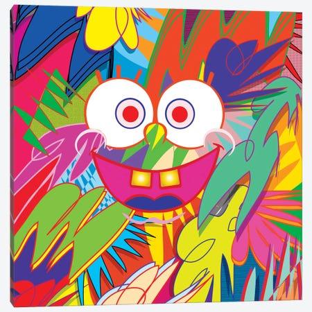 SpongeBob Canvas Print #TDR63} by TECHNODROME1 Canvas Wall Art