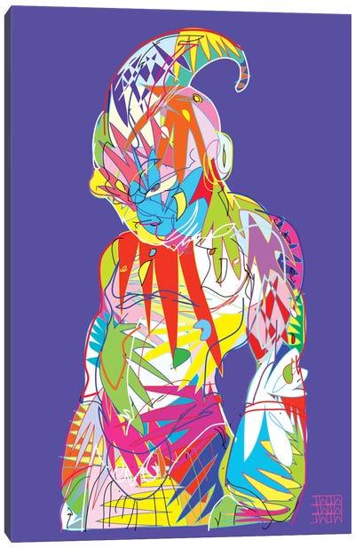 Super Buu Canvas Print #TDR64