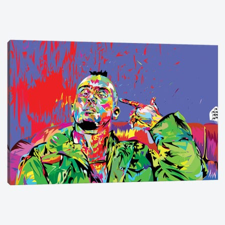 Taxi Driver Canvas Print #TDR67} by TECHNODROME1 Canvas Print