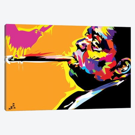 The Notorious B.I.G. Canvas Print #TDR68} by TECHNODROME1 Canvas Artwork
