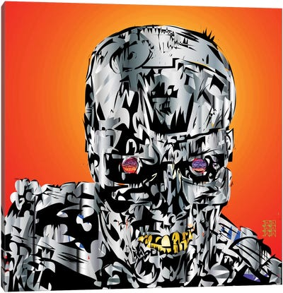 The Terminator Canvas Art Print