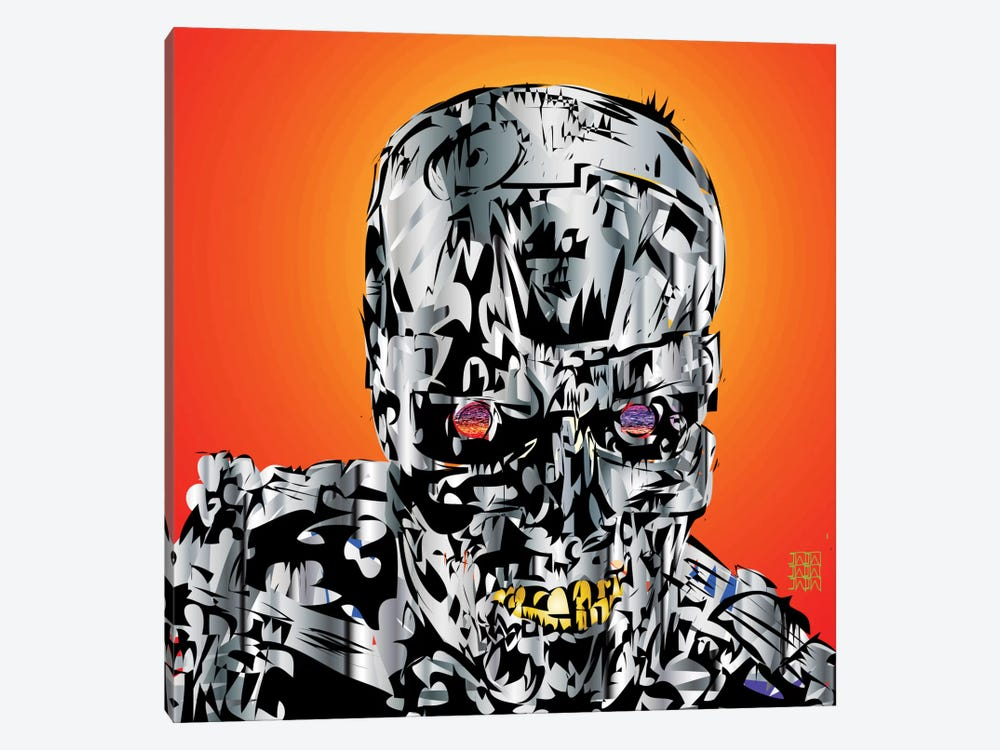 The Terminator by TECHNODROME1 1-piece Art Print