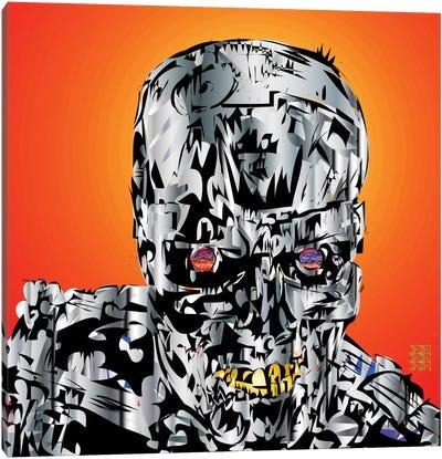 The Terminator Canvas Art Print