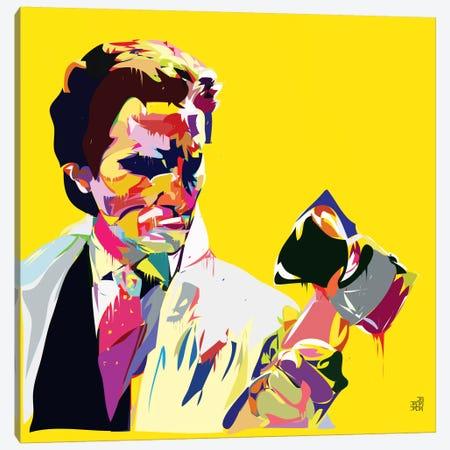 American Syco Canvas Print #TDR6} by TECHNODROME1 Canvas Art Print