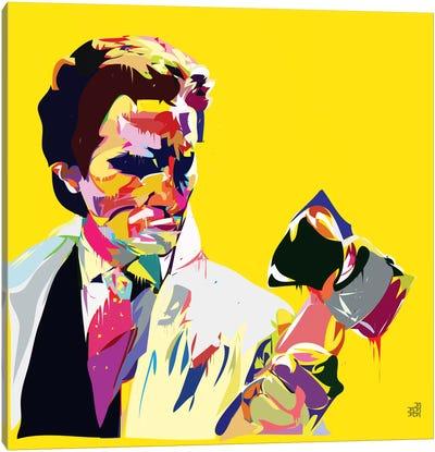 American Syco Canvas Art Print