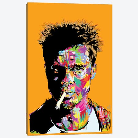 Tyler Durden Canvas Print #TDR72} by TECHNODROME1 Art Print