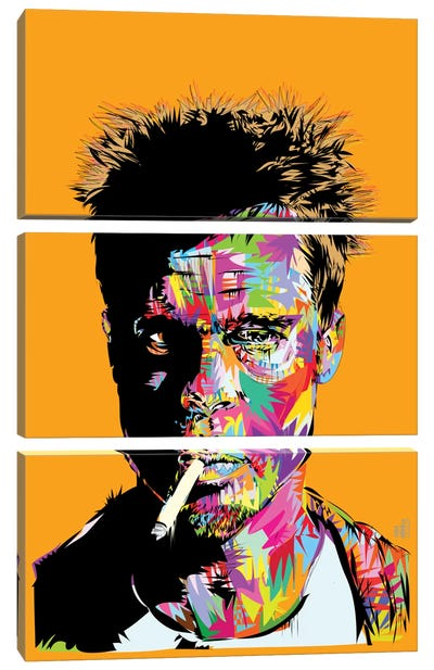 Tyler Durden Canvas Art Print