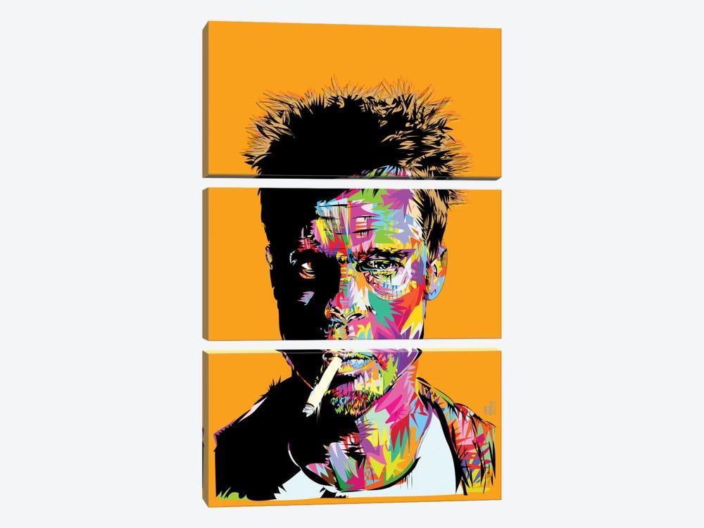 Tyler Durden by TECHNODROME1 3-piece Canvas Print