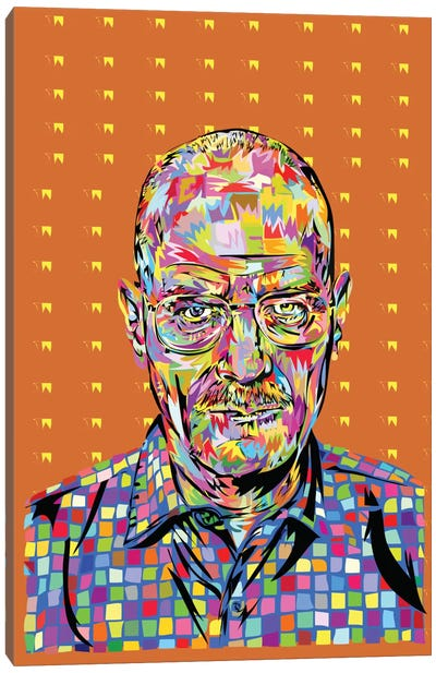 Walter White Canvas Print #TDR73