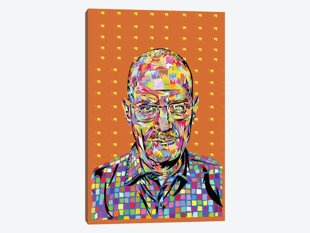 Walter White by TECHNODROME1 1-piece Canvas Artwork