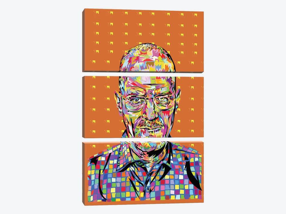 Walter White by TECHNODROME1 3-piece Canvas Artwork