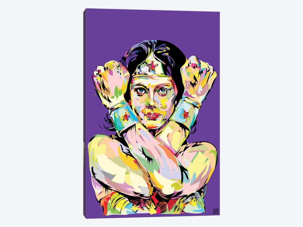 Wonder Woman Bracelets by TECHNODROME1 1-piece Canvas Print