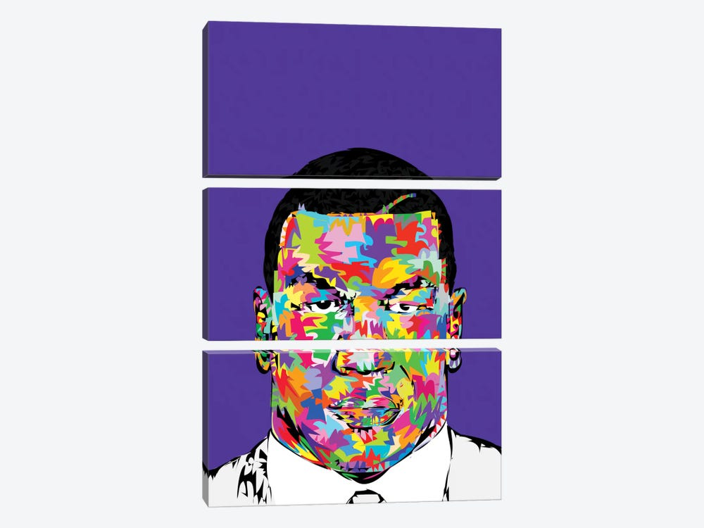 Young Tyson 3-piece Canvas Artwork