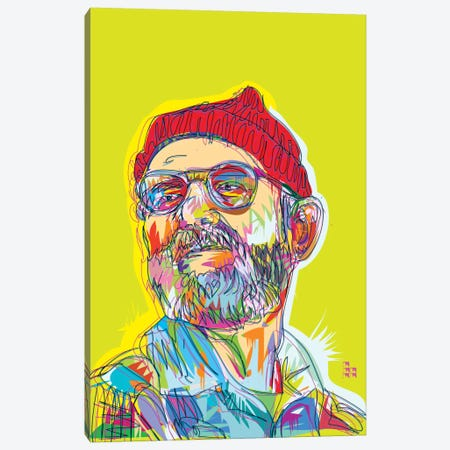 Zissou Canvas Print #TDR78} by TECHNODROME1 Art Print