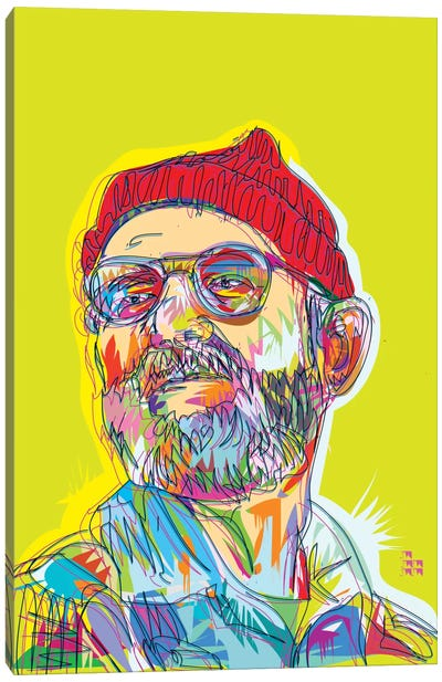 Zissou Canvas Art Print
