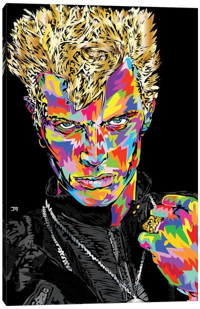 Billy Idol by TECHNODROME1 Art Print