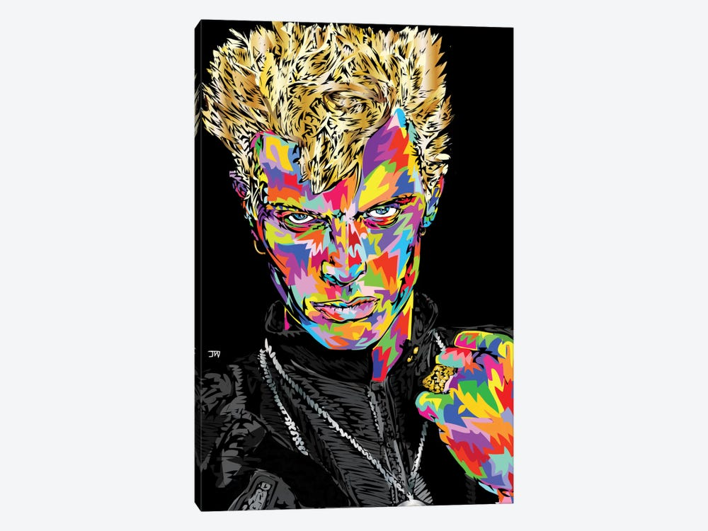 Billy Idol by TECHNODROME1 1-piece Canvas Wall Art