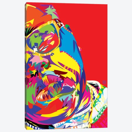 B.I.G. Canvas Print #TDR7} by TECHNODROME1 Canvas Print