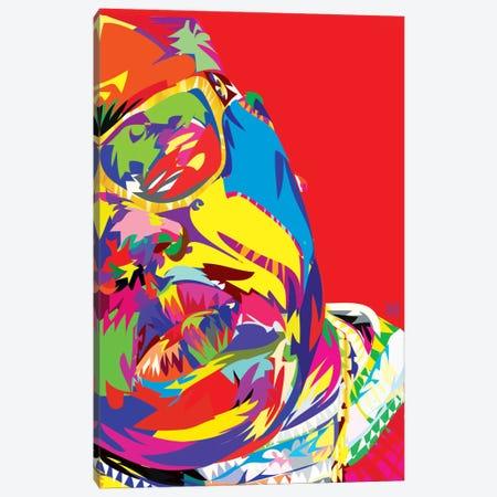 B.I.G. Canvas Print #TDR7} by TECHNODROME1 Canvas Print