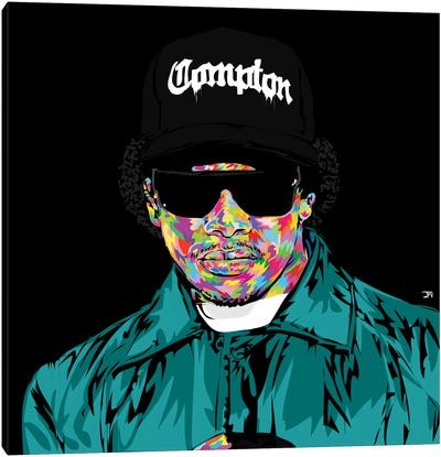 Eazy E Canvas Print #TDR81