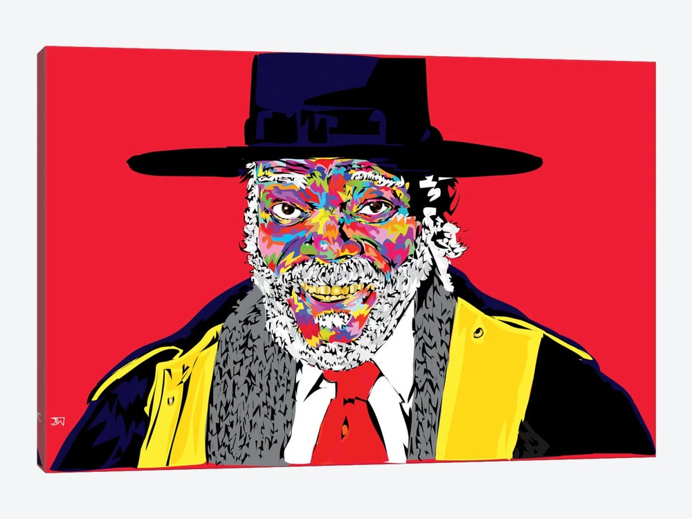 Sam L. In Hateful 8 by TECHNODROME1 1-piece Canvas Print